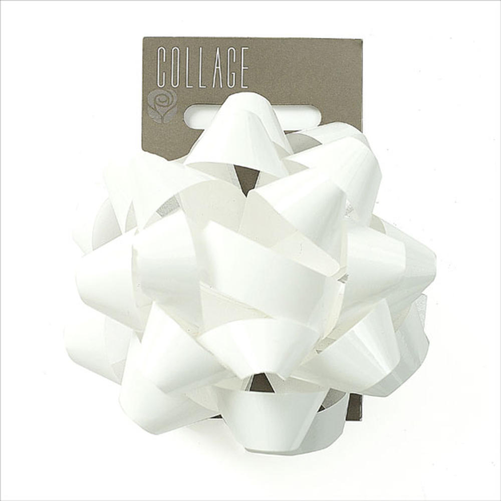 Gift Wrap Bow Individual White Wrapping Bows