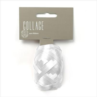 Gift Wrap Ribbon Individual 10M Roll White Wrapping Ribbon
