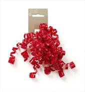 Gift Wrap Curly Bow Individual Red Wrapping Ribbons