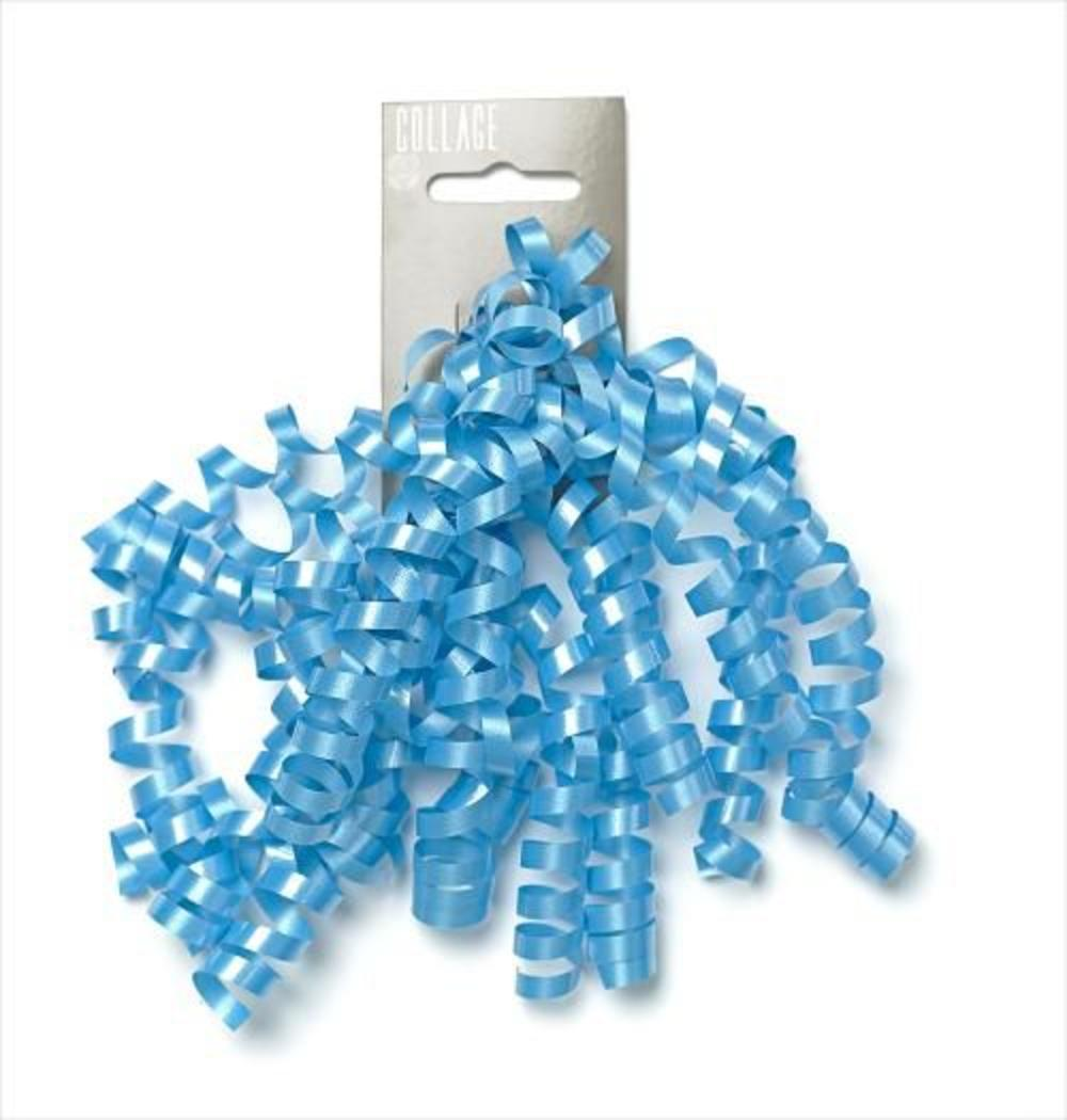 Gift Wrap Curly Bow Individual Blue Wrapping Ribbons