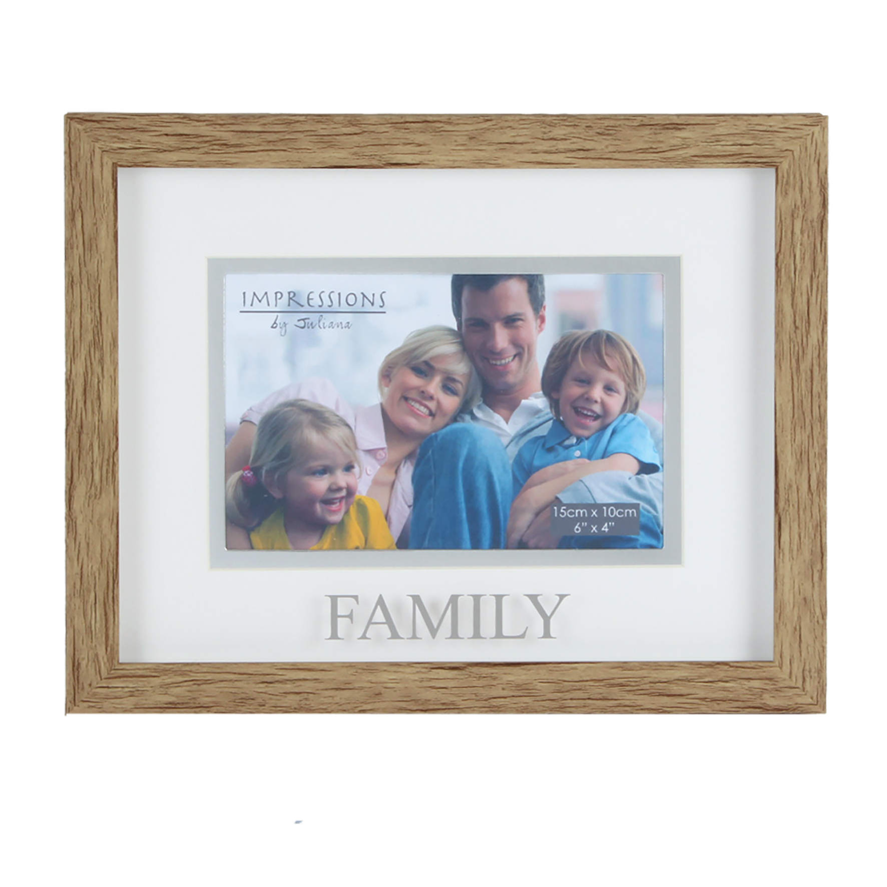 Juliana Family Natural Wood Effect Photo Frame | Gifts | Love Kates