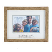 Juliana Family Natural Wood Effect Photo Frame