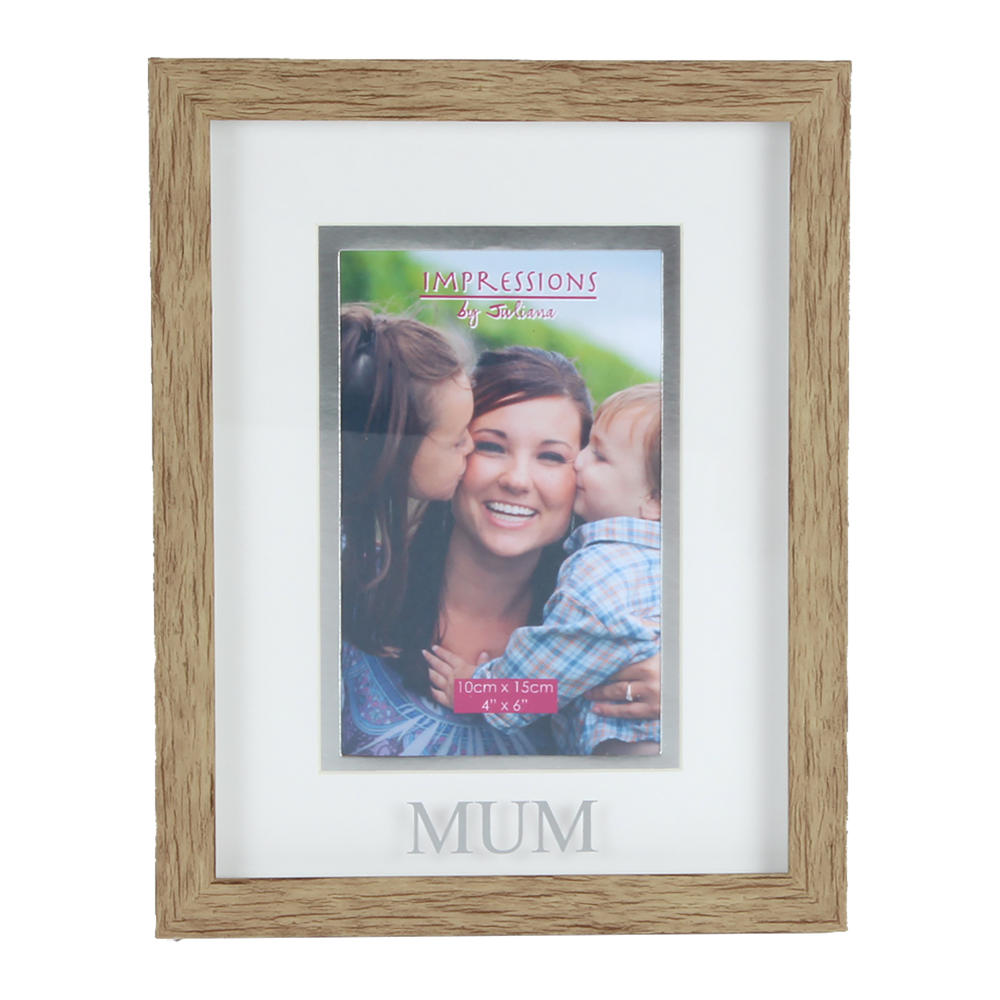 Juliana Mum Natural Wood Effect Photo Frame