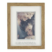 Juliana Grandma Natural Wood Effect Photo Frame