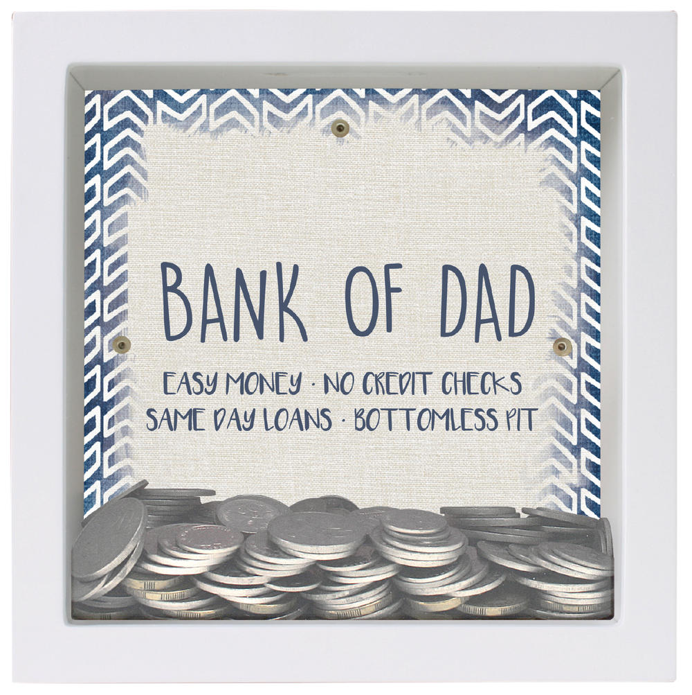 Splosh Bank Of Dad Change Box Gift