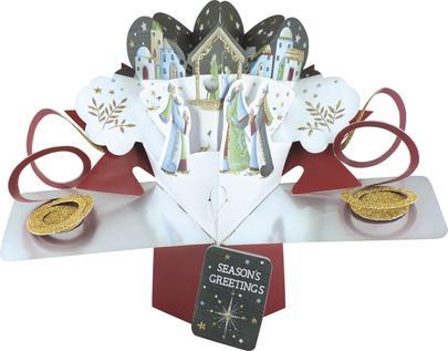 Christmas Nativity Pop-Up Greeting Card