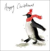 Pack of 5 Penguin RNLI Lifeboats Charity Christmas Cards