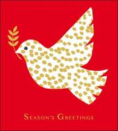 Pack of 5 Festive Dove Samaritans Charity Christmas Cards
