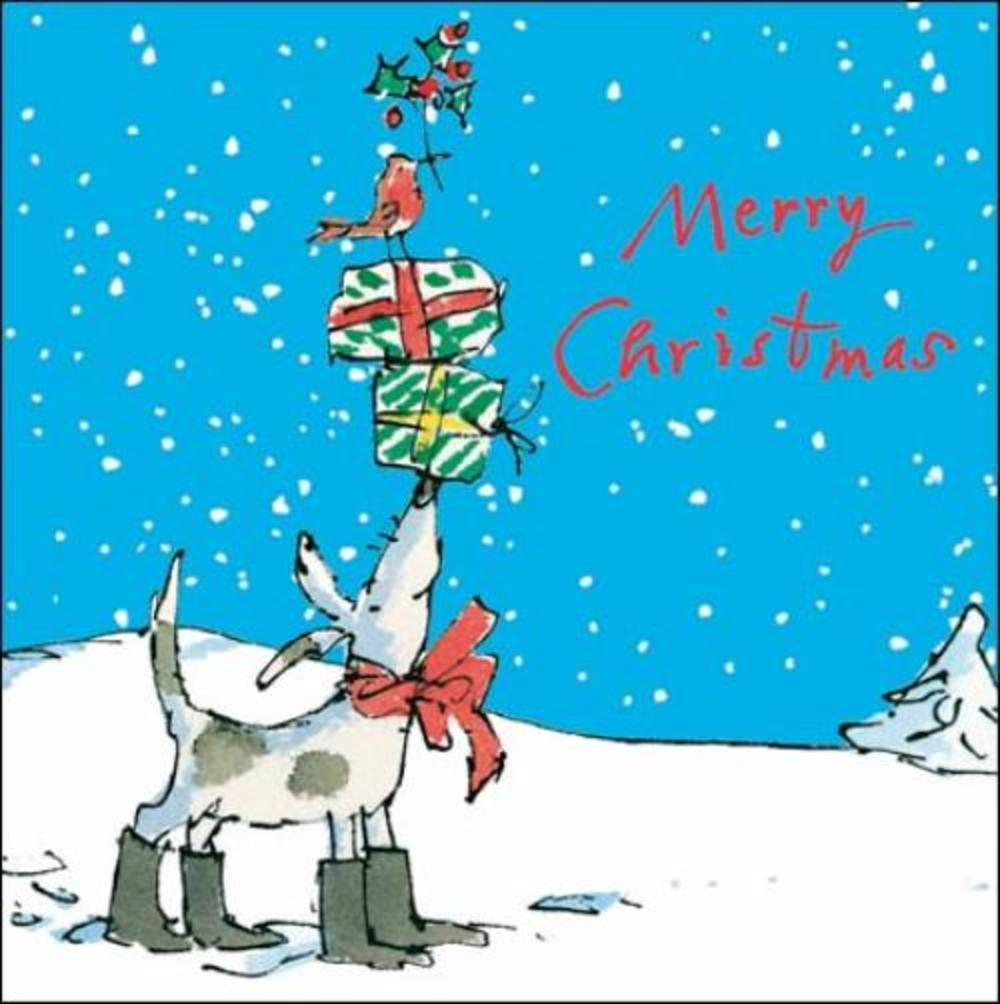 Pack of 5 Quentin Blake Childline Charity Christmas Cards