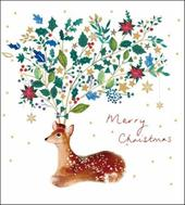 Pack of 5 Merry Christmas Alzheimer's Society Charity Christmas Cards