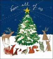 Pack of 5 From All Of Us Alzheimer's Society Charity Christmas Cards