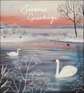 Pack of 5 Season's Greetings Alzheimer's Society Charity Christmas Cards
