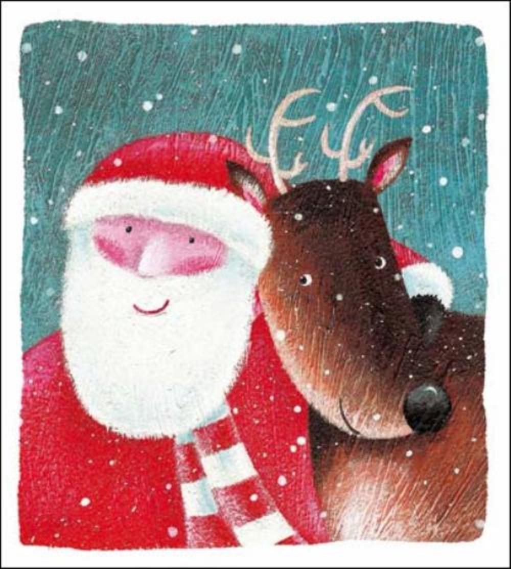 Pack of 5 Festive Friends Shelter & Crisis Society Charity Christmas Cards