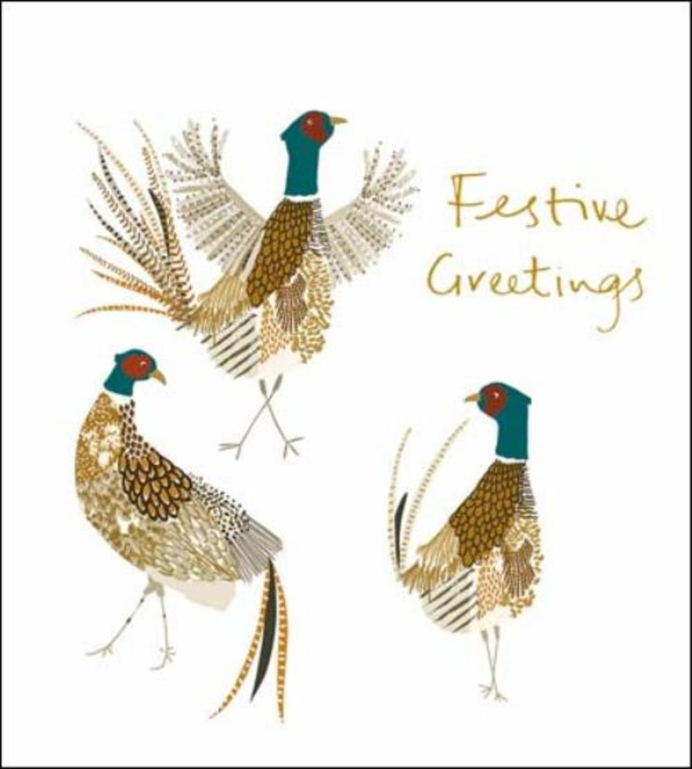 Pack of 5 Festive Greetings Shelter & Crisis Society Charity Christmas Cards
