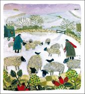 Pack of 5 Frosty Morning Shelter & Crisis Society Charity Christmas Cards