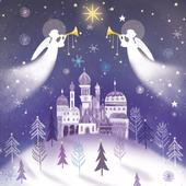 Pack of 8 Christmas Angels Shelter Fairdeal Charity Christmas Cards