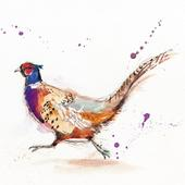 Pack of 8 Pheasant British Heart Foundation Fairdeal Charity Christmas Cards
