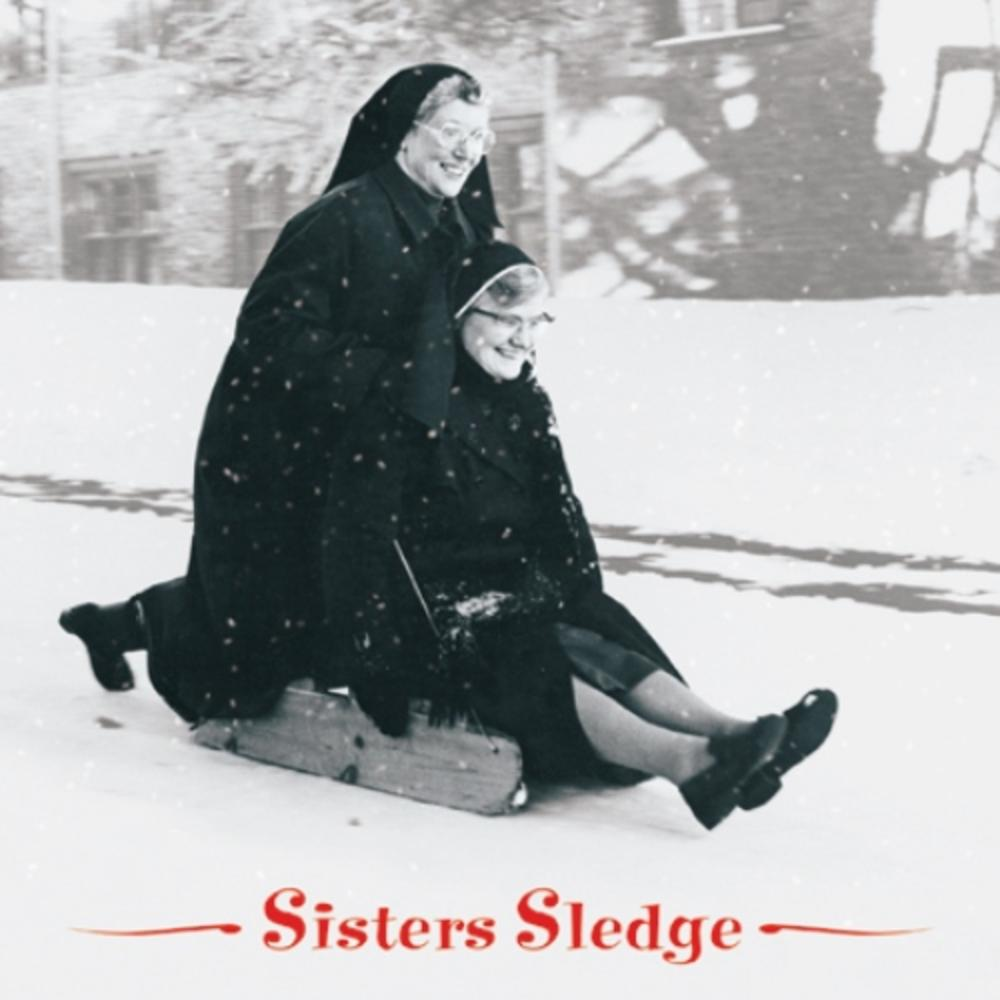 Pack of 8 Sisters Sledge Shelter Fairdeal Charity Christmas Cards