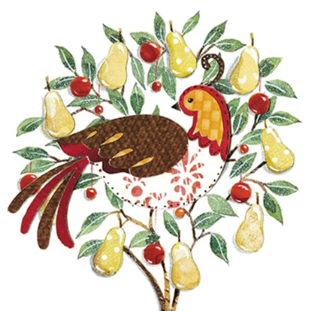 Pack of 6 Partridge Charity Christmas Cards Supports Multiple Charities