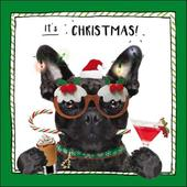 It's Christmas! Funny Dog Greeting Card