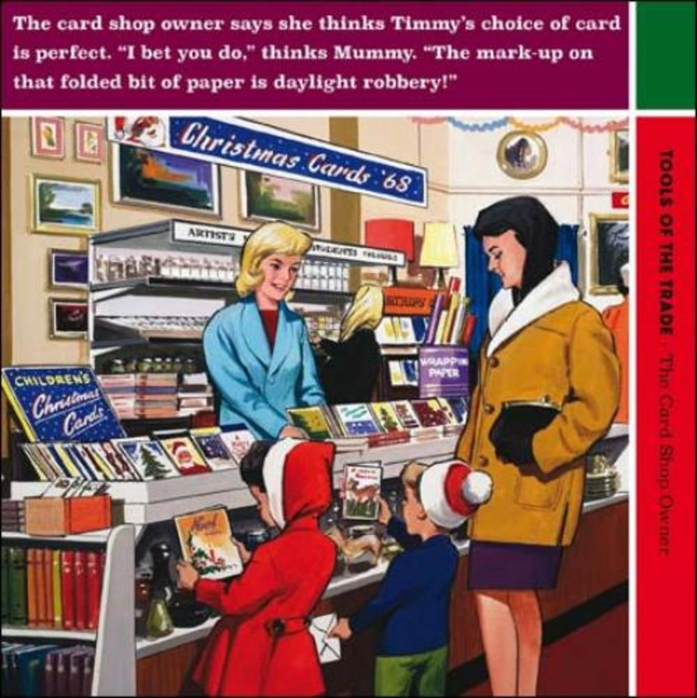 Tools Of The Trade Funny Christmas Greeting Card