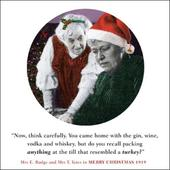 Now Think Carefully Funny Christmas Greeting Card