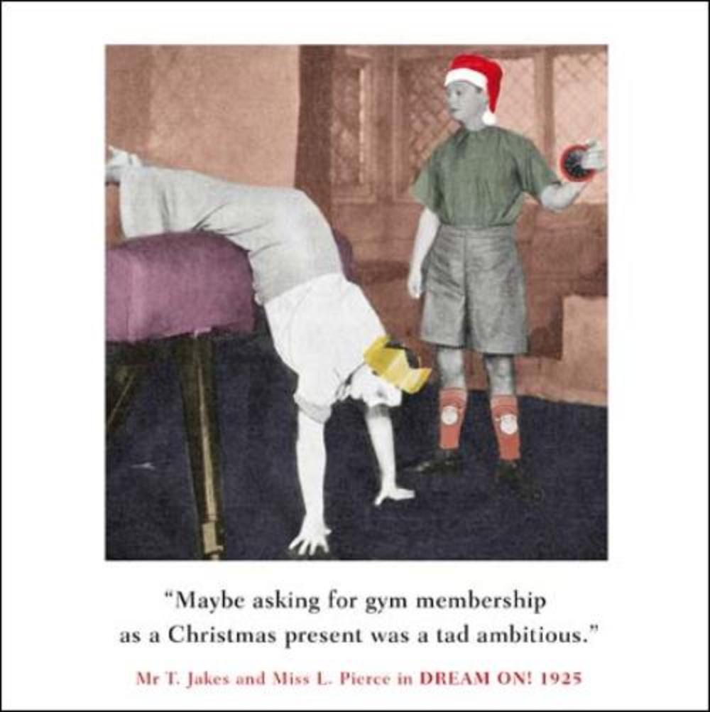 Gym Membership Funny Christmas Greeting Card