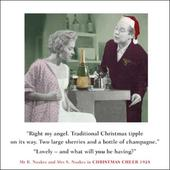 Christmas Tipple Funny Christmas Greeting Card
