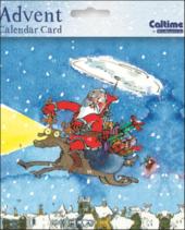 Quentin Blake Advent Calendar Christmas Card