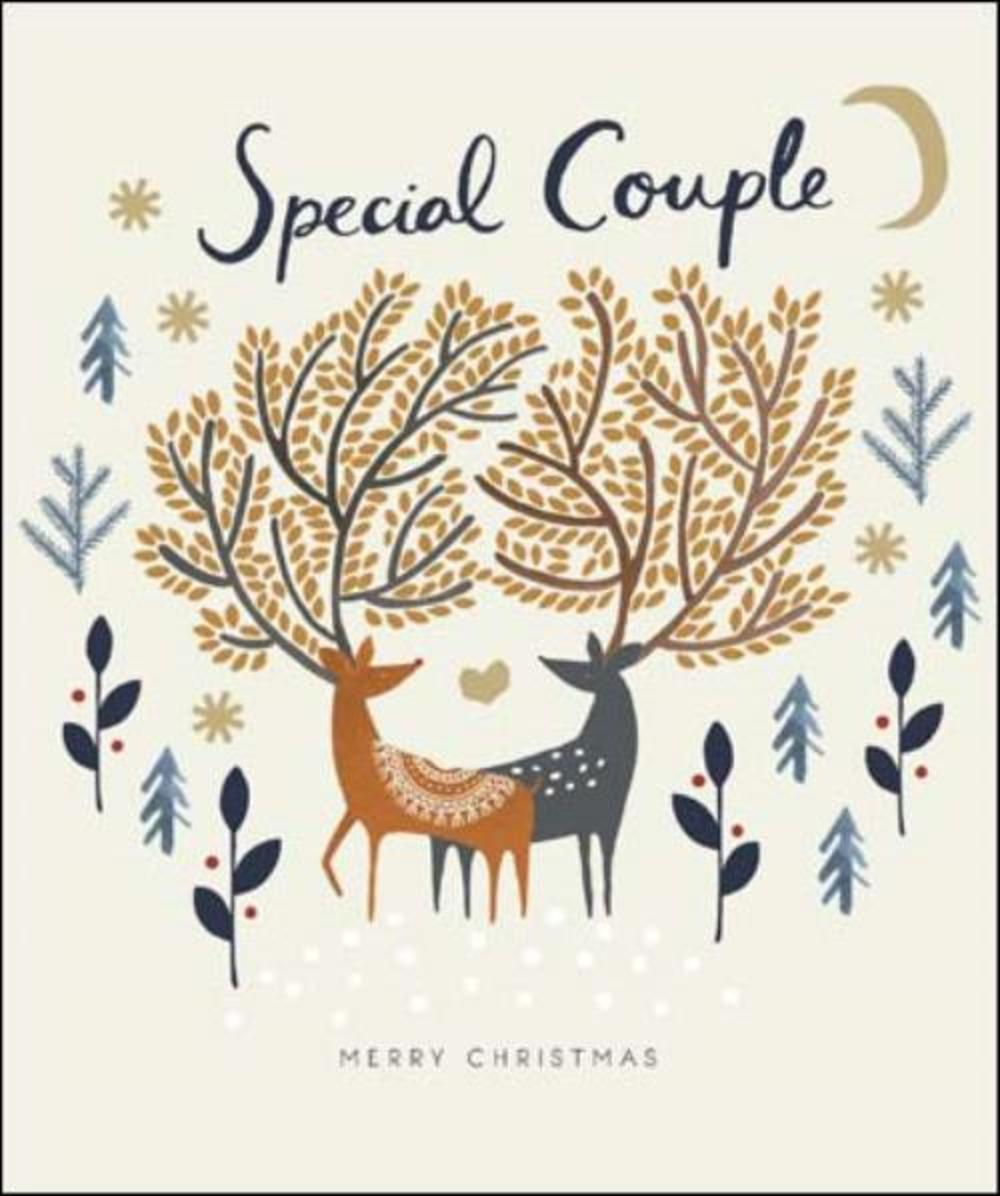 Special Couple Emma Grant Christmas Greeting Card