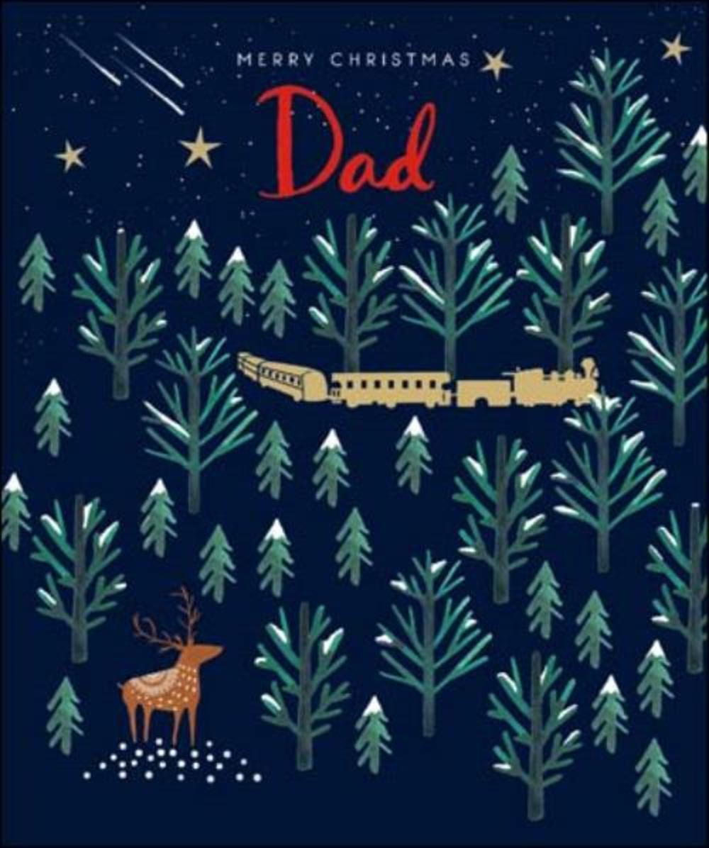 Dad Emma Grant Christmas Greeting Card