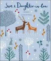 Son & Daughter-In-Law Emma Grant Christmas Greeting Card