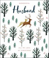 Wonderful Husband Emma Grant Christmas Greeting Card
