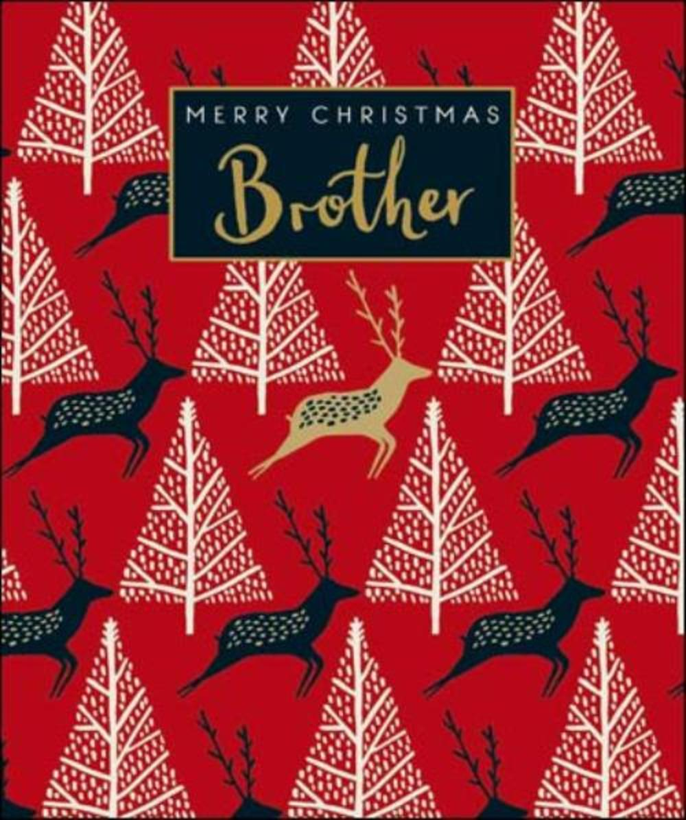 Brother Emma Grant Christmas Greeting Card