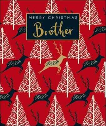 Brother Emma Grant Christmas Greeting Card