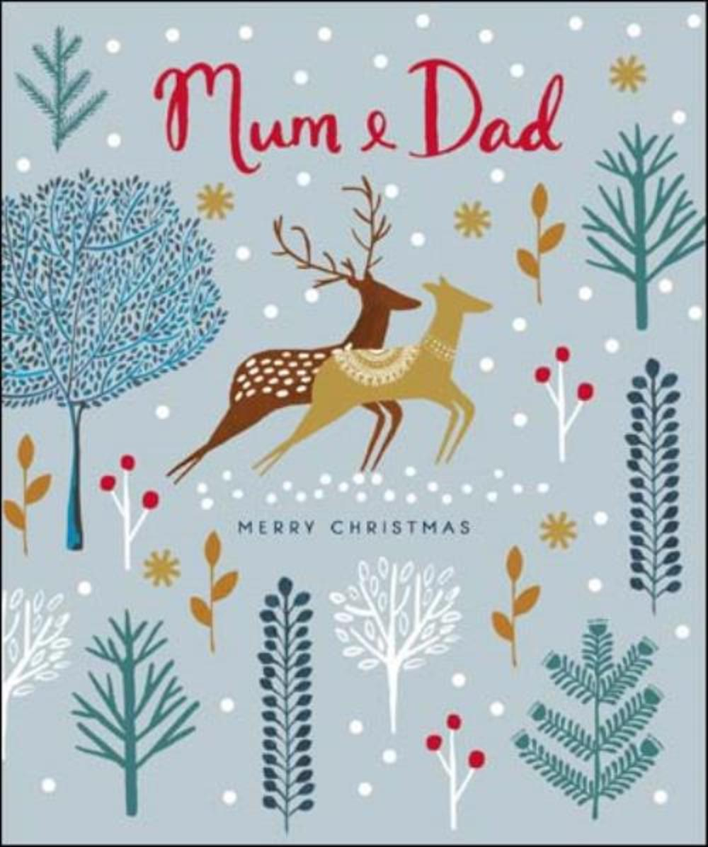 Mum & Dad Emma Grant Christmas Greeting Card