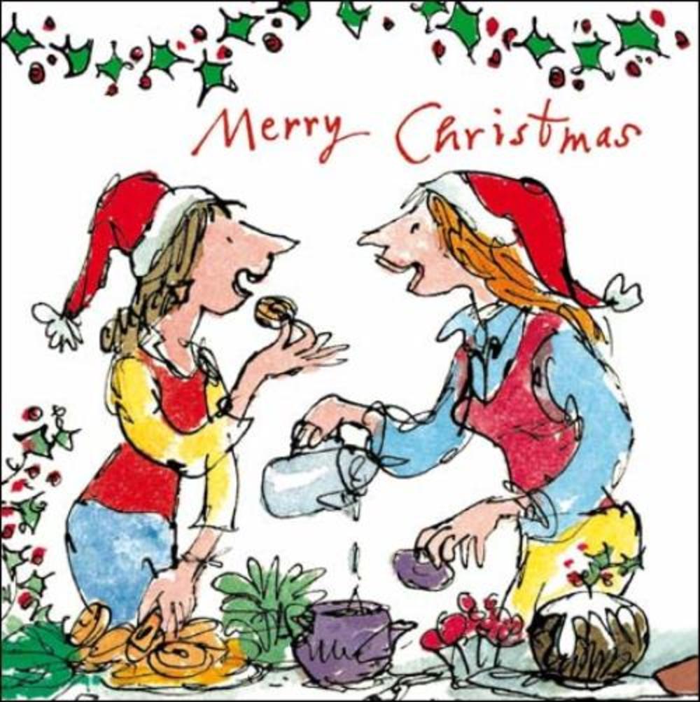 Merry Christmas Quentin Blake Christmas Card