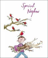 Special Nephew Quentin Blake Christmas Card