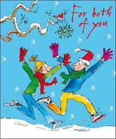 For You Both Quentin Blake Christmas Greeting Card