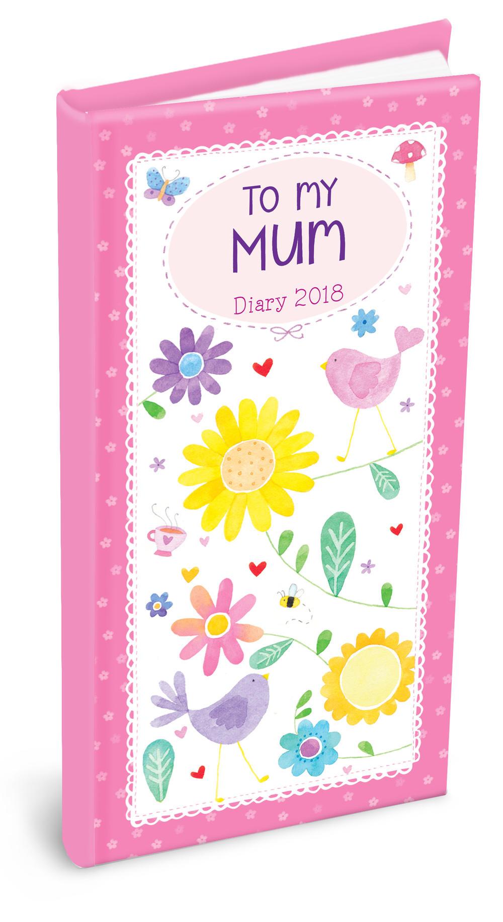 2018 To My Mum Pocket Diary