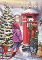 Box of 16 Samaritans Charity Christmas Cards 2 Designs