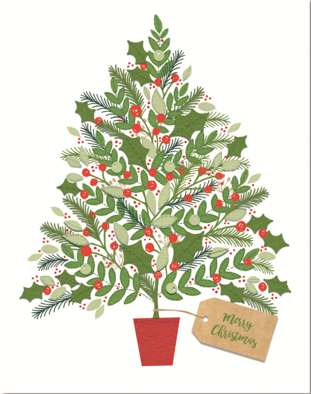 Pack of 10 Alzheimer's Society Charity Christmas Cards