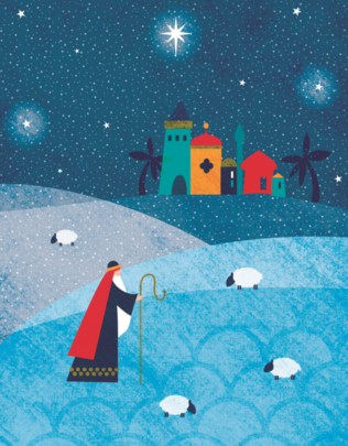Pack of 10 Marie Curie Charity Christmas Cards