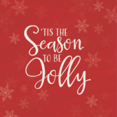 Pack of 10 Tis The Season To Be Jolly Samaritans Charity Christmas Cards