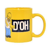 The Simpsons D'OH  Homer Simpson Mug In Gift Box