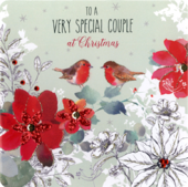 Special Couple Special Luxury Handmade Christmas Card