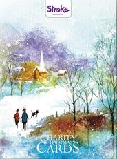 Box of 12 Winter Scene Stroke Association Charity Christmas Cards