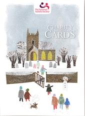 Box of 12 Snowy The National Autistic Society Charity Christmas Cards