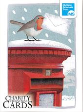 Box of 12 Robin & Hare MS Multiple Sclerosis Trust Charity Christmas Cards