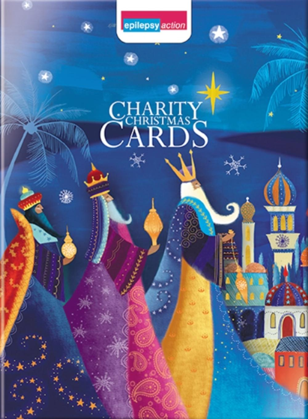 Box of 12 Religious Epilepsy Action Charity Christmas Cards